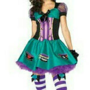 Sz L  Mad Hatter Costume  Leg Avenue